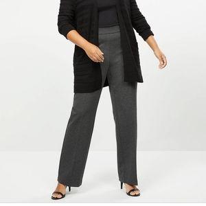 Lane bryant gray Ponte pant size 22/24